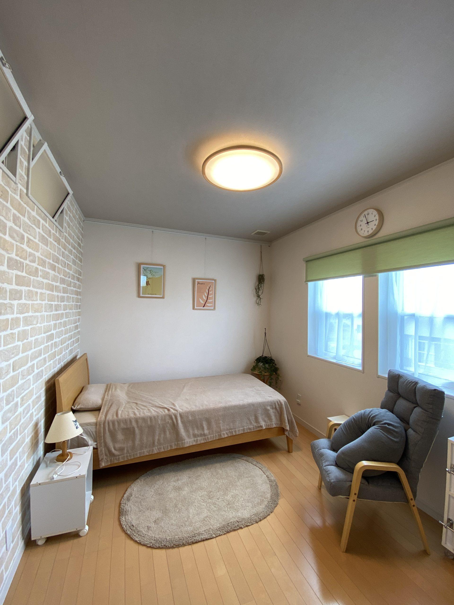 ご寝室を間仕切るリノベーション
